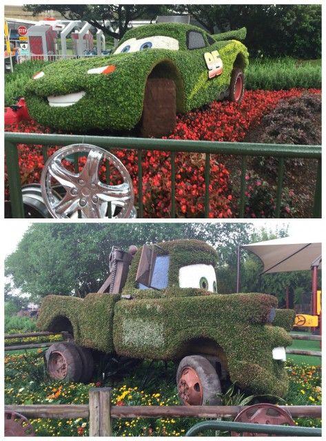 Disney Epcot's International Flower and Garden Festival