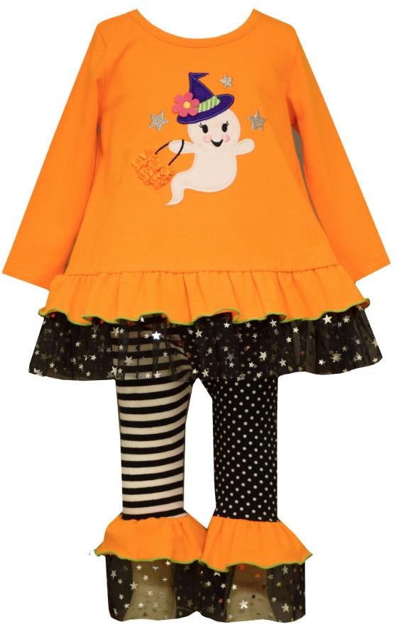 Bonnie Jean Little Girls City Print Legging Set