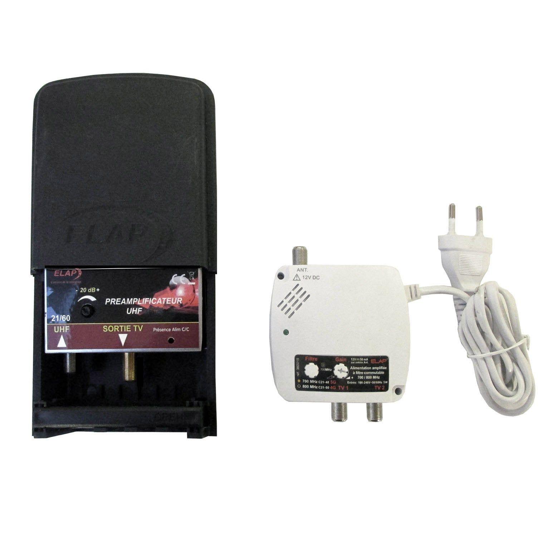 Kit Amplificateur Terrestre 2 Sorties Elap Kit Terrestre