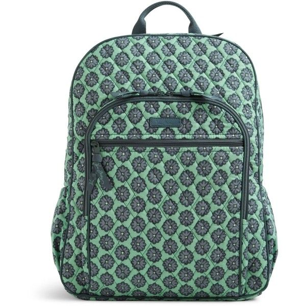 Vera Bradley Campus Backpack in Nomadic Blossoms ( 109) ❤ liked on Polyvore  featuring bags, backpacks, nomadic blossoms, backpack bags, flower backpack,  ... a5121914f0