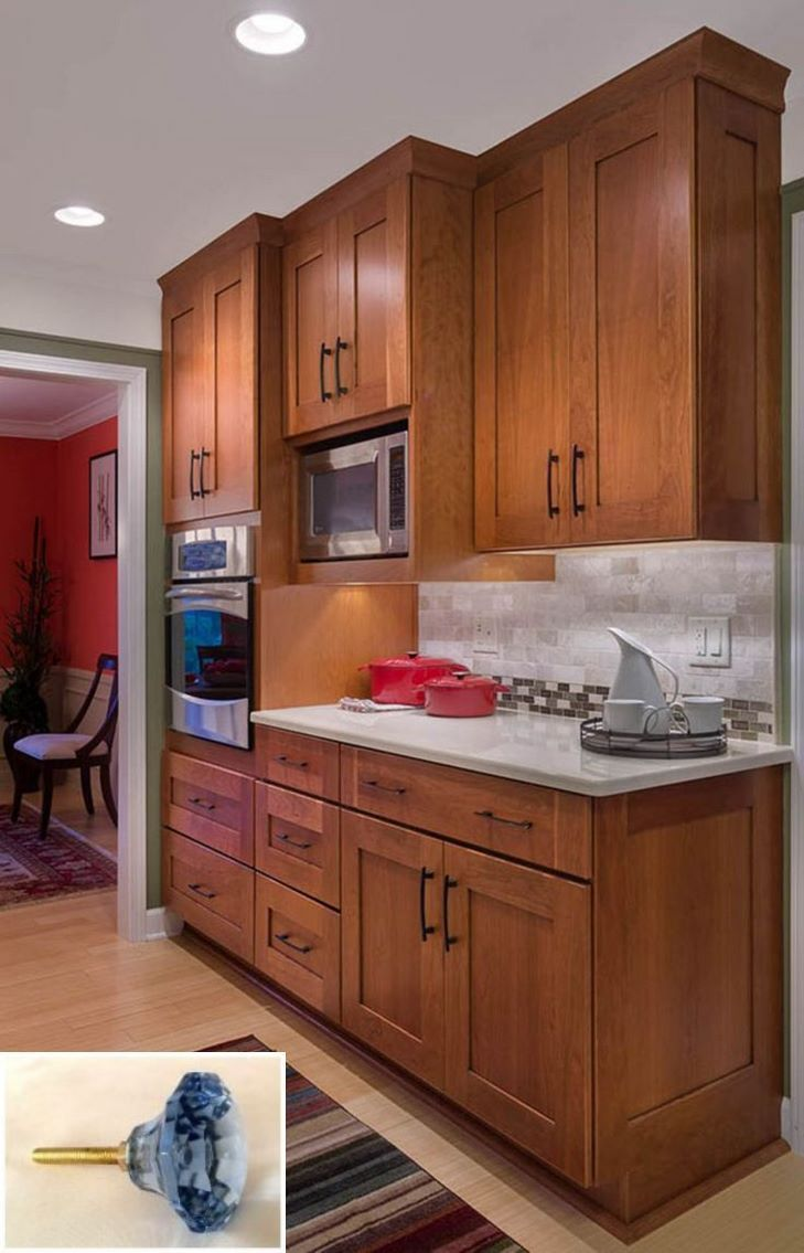 Dark Light Oak Maple Cherry Cabinetry And Wood Kitchen ...