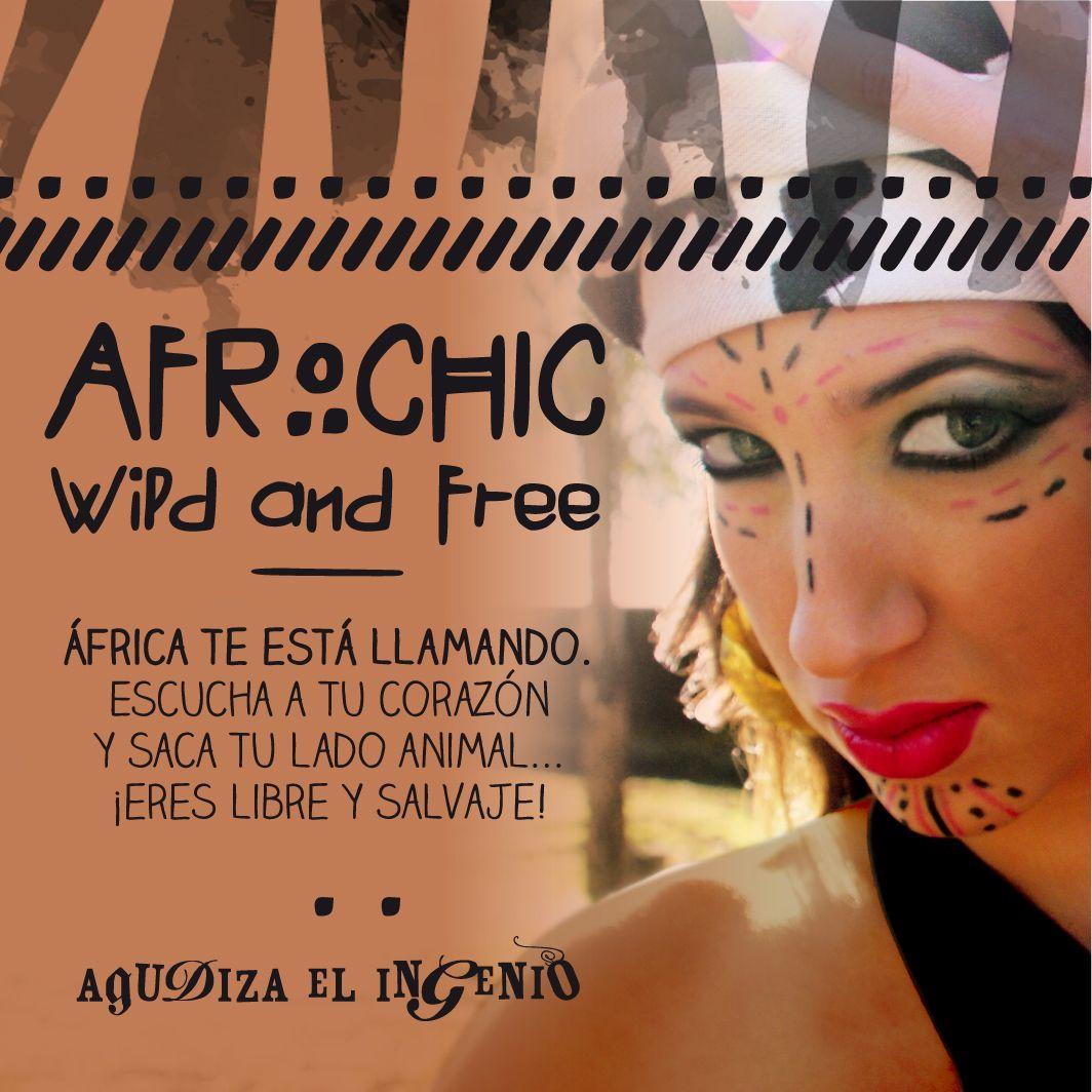 """Colección de complementos """"Afrochic"""""""