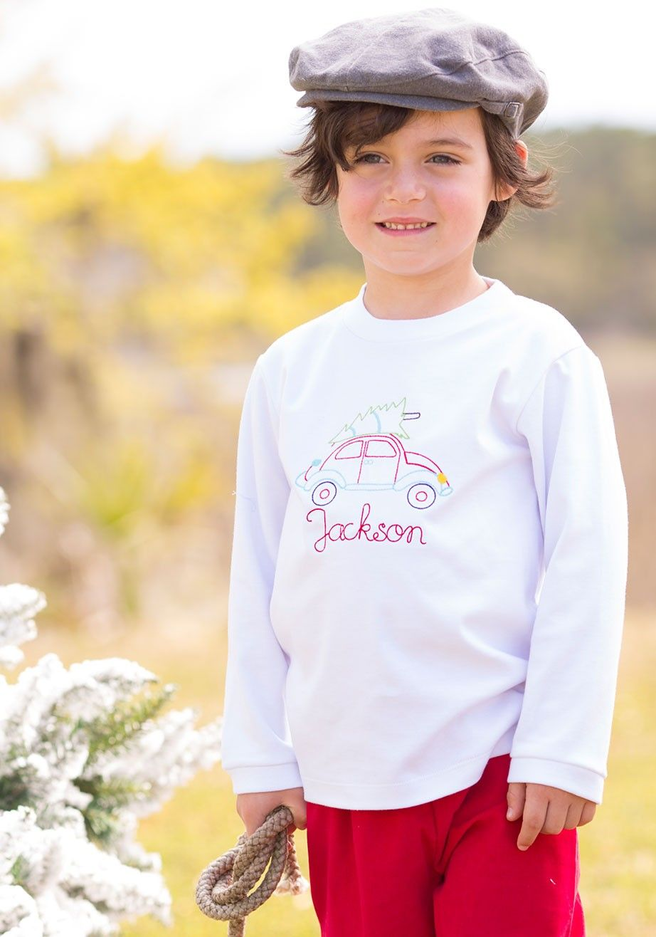 0a2a3787 Preppy Southern, Custom Embroidery, Embroidery Designs, Matching Outfits, Kids  Boys, Knitted