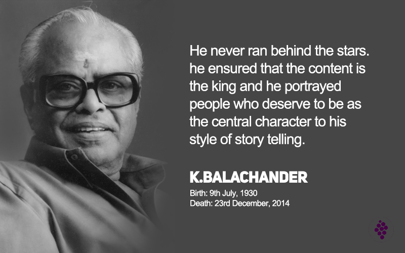 RIP Mr.K.Balachander... Mani ratnam, Death, To reach