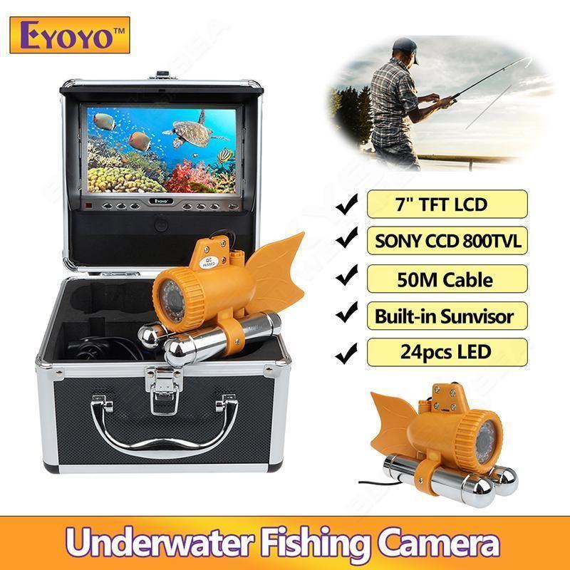 Eyoyo 7 Tft Lcd 50m 164ft Ccd 800tvl Underwater Camera Fish Finder