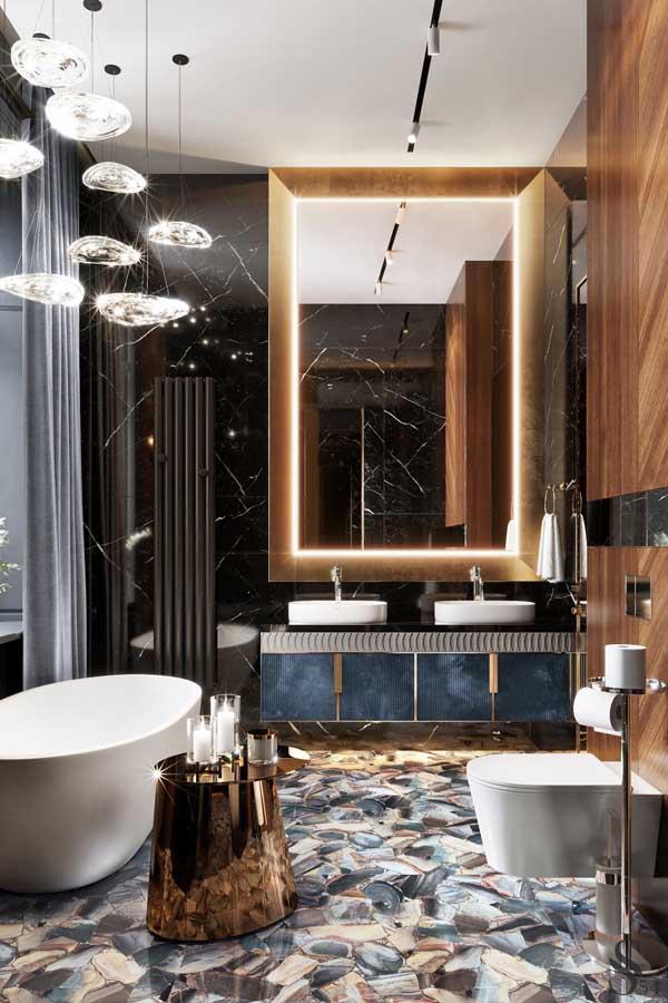 ديكور حمامات وتصاميم حمامات مودرن غاية في الفخامة ديكورات أرابيا In 2020 Dream Bathroom Luxury Bathroom Design Luxury Luxury Bathroom