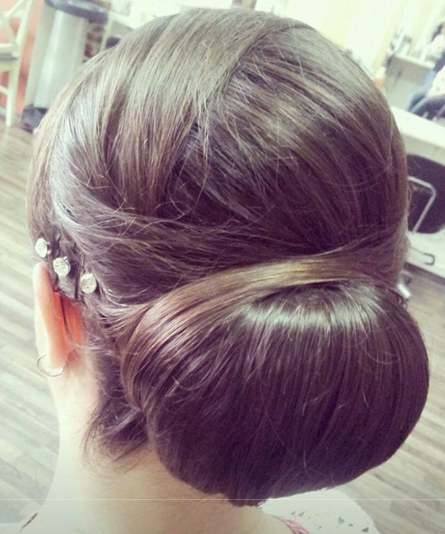 Cute hair up do for a special event