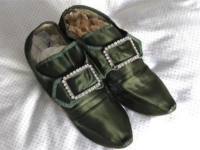 Attractive Antique{1800s}Pair Lady's Silk Shoes. https://t.co/hOxayAnEJL https://t.co/UHKL4GAf4j