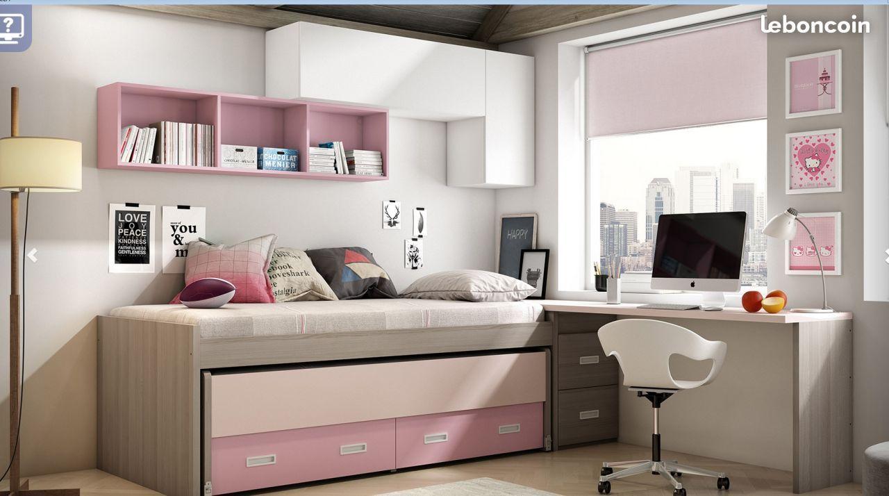lit gain de place chambre chambre enfant lit gain de. Black Bedroom Furniture Sets. Home Design Ideas