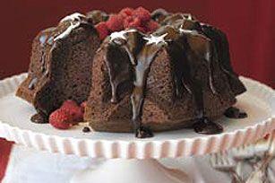Triple-Chocolate Bliss Cake