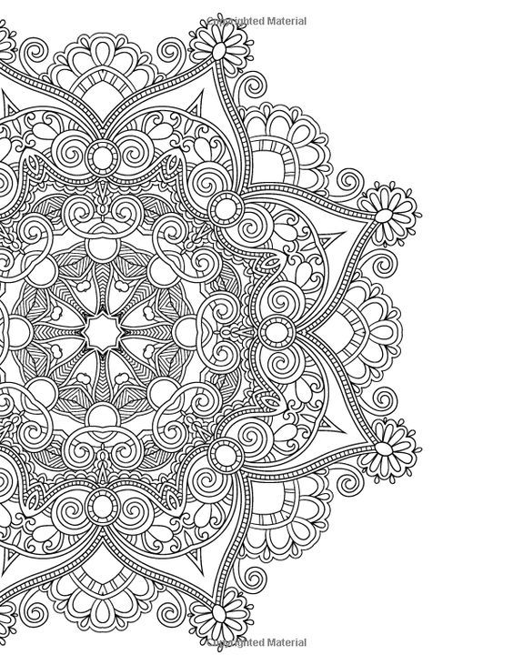 create masterpiece coloring pages | ≡The Mandalas Colouring Book: Just Add Colour and Create a ...