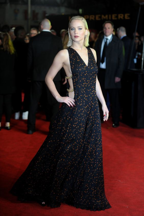 Jennifer Lawrence in Dior at the