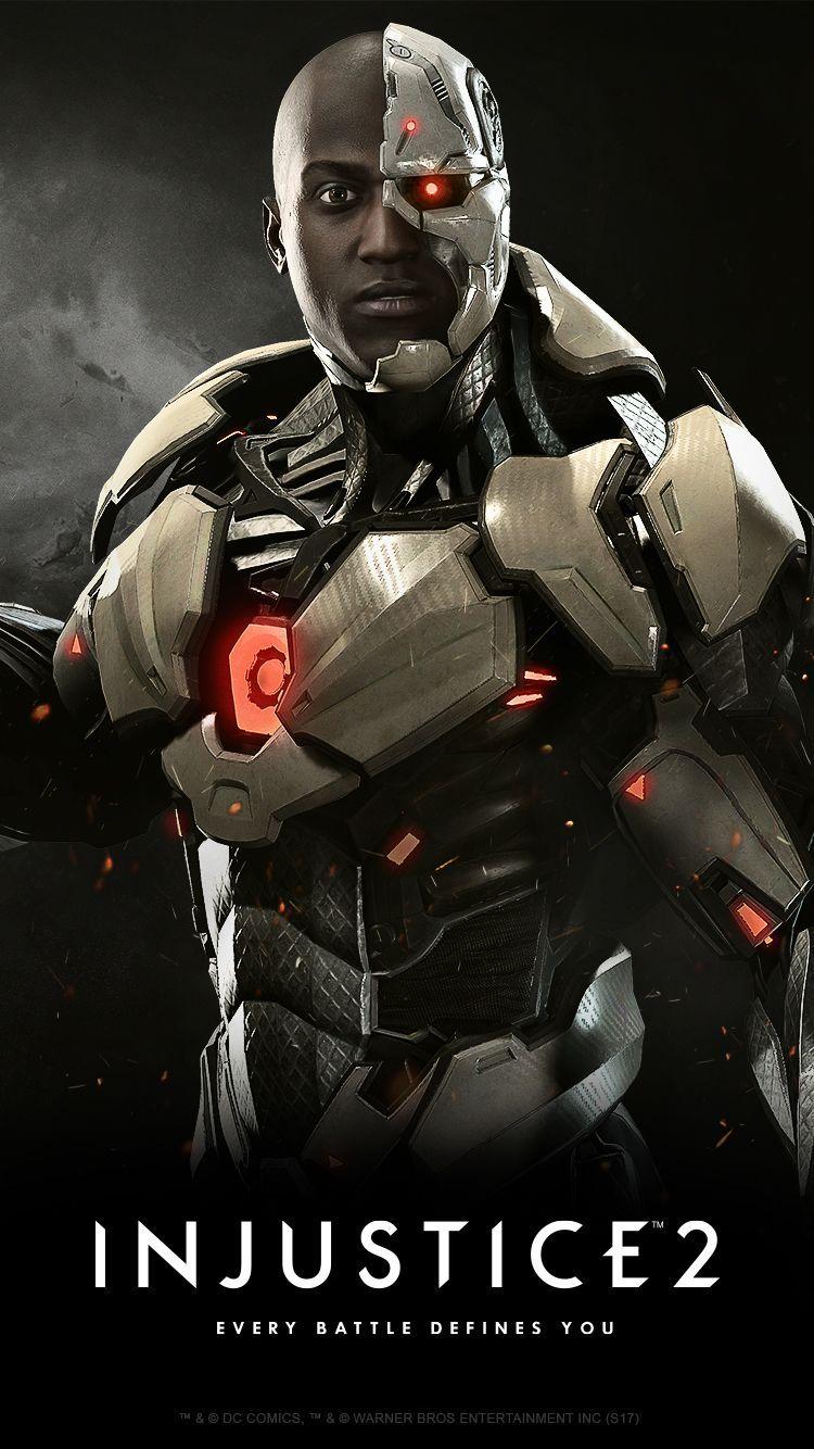 Cyborg Injustice 2 Cyborg Dc Comics Superhero Comic Black Comics