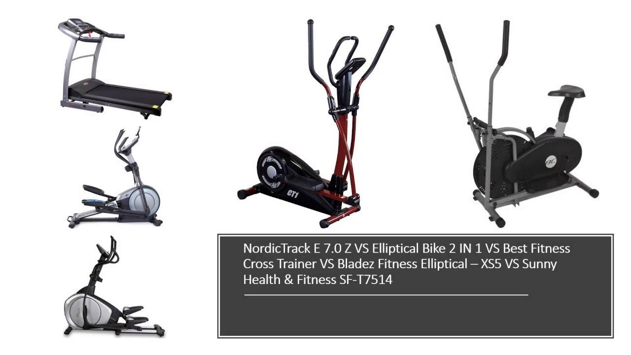 Nordictrack Vs Elliptical Bike Vs Best Fitness Vs Bladez Fitness