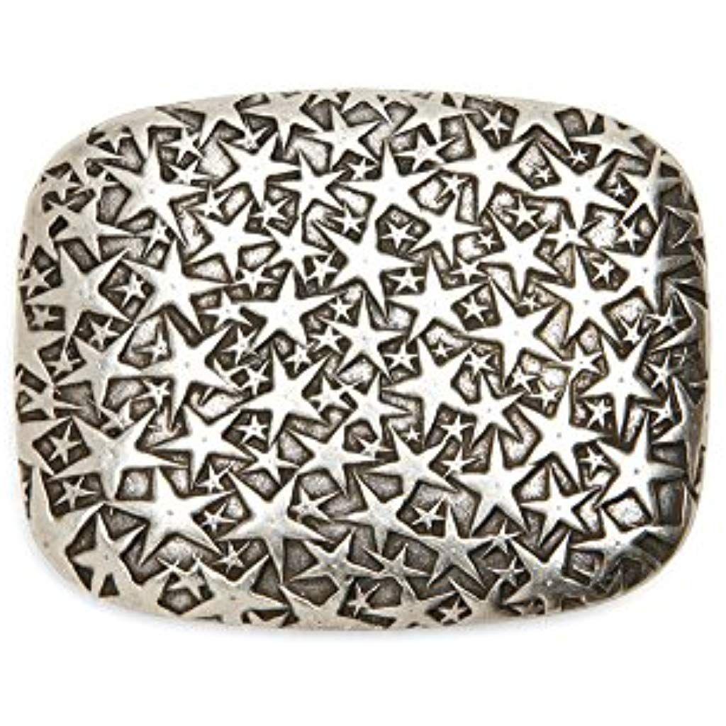 Gürtelschnalle Schließe Schnalle Verschluss 1,7 cm silber  NEUWARE rostfrei