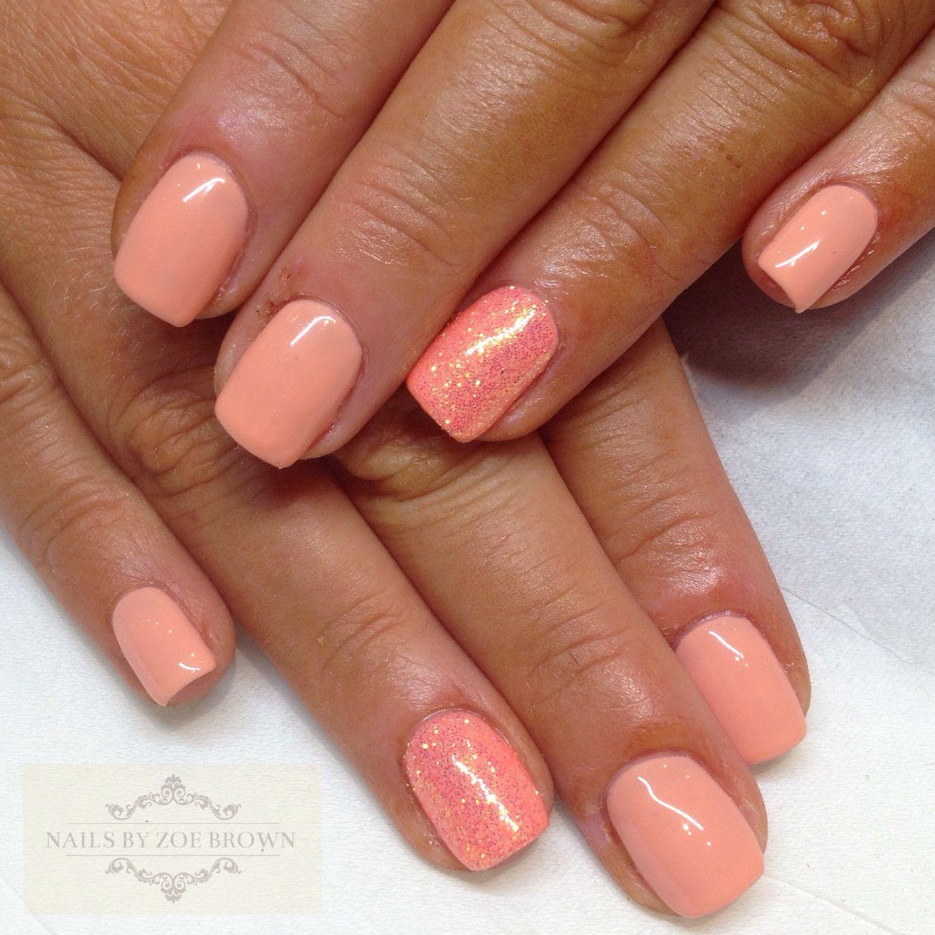 CND shellac salmon run | Nails | Pinterest | Shellac nails ...