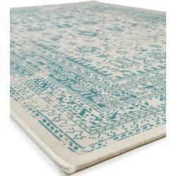 Photo of benuta Classic Teppich Antique Beige/Türkis 140×200 cm – Vintage Teppich im Used-Look