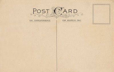 Lunagirl Moonbeams by Lunagirl Vintage Images: Free Vintage Image -- Post Card