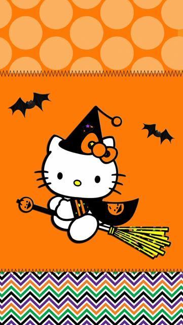 Hello kitty halloween wallpapers hello kitty - Hello kitty halloween ...