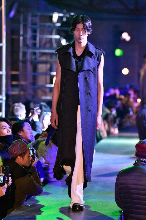 Raf Simons tailors textured Kvadrat fabrics into men's outerwear.