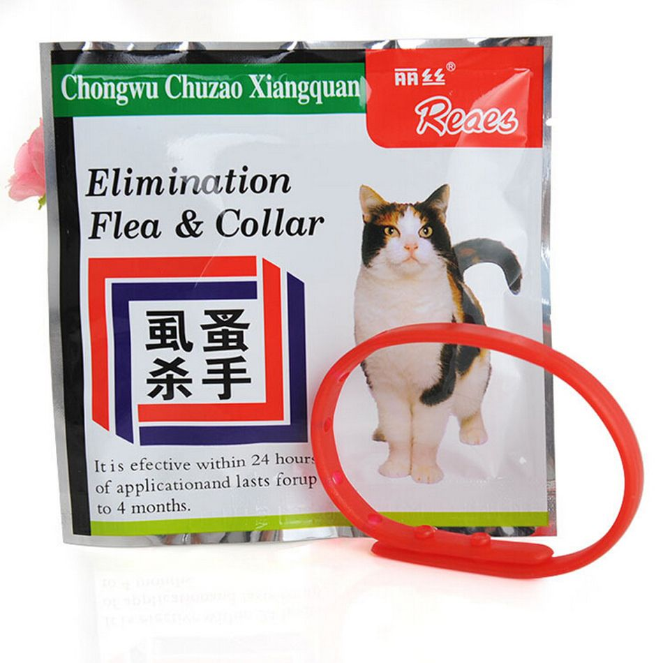 30cm Pet Safety Collar Cat Anti Flea Tick Mosquito Elimination Plastic Adjustable 4 Month Effective Remedy Neck Free Shipping Pet Products Cat Flea Collar Cat Fleas Pet Collars