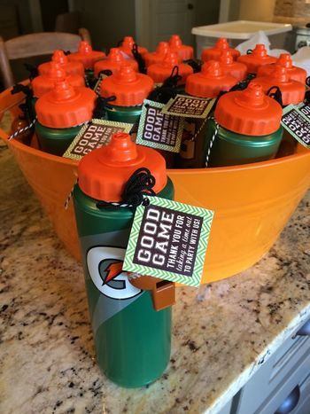 Basketball Party Favor Ideas | Soccer birthday parties ...