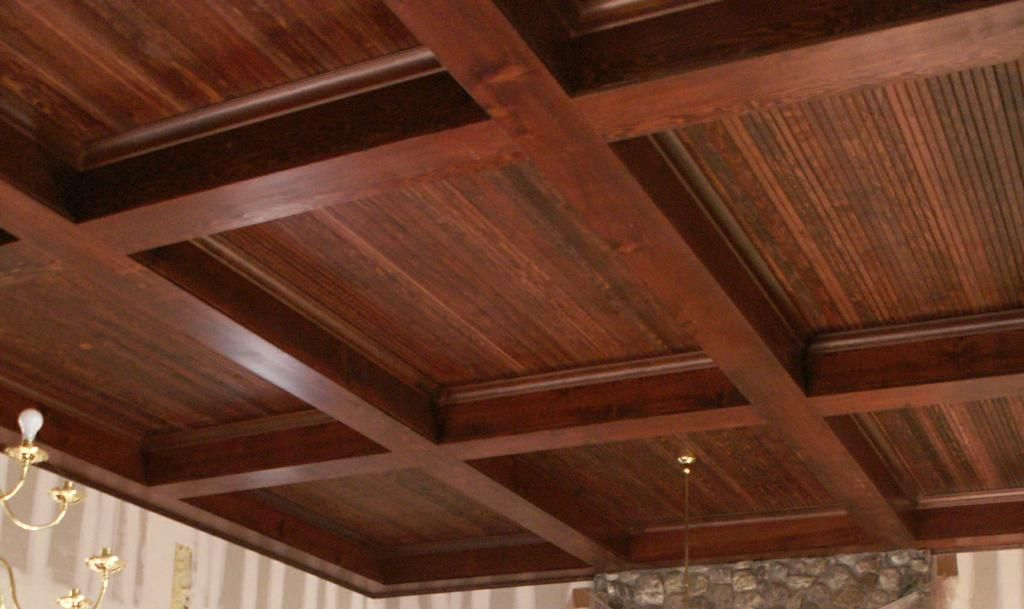 Wood box beam ceiling diy pinterest wood boxes beam for Wood box beam