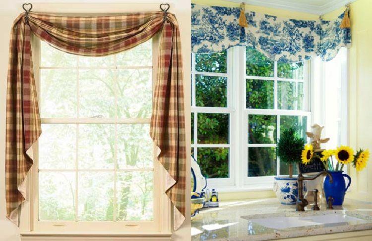 Фото идей тюль и шторы 84