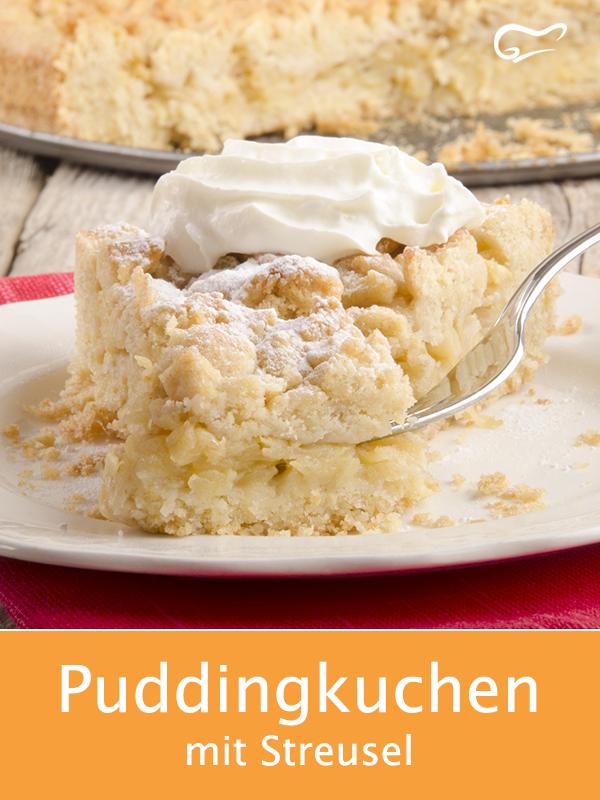 Photo of Puddingkuchen mit Streusel – Rezept