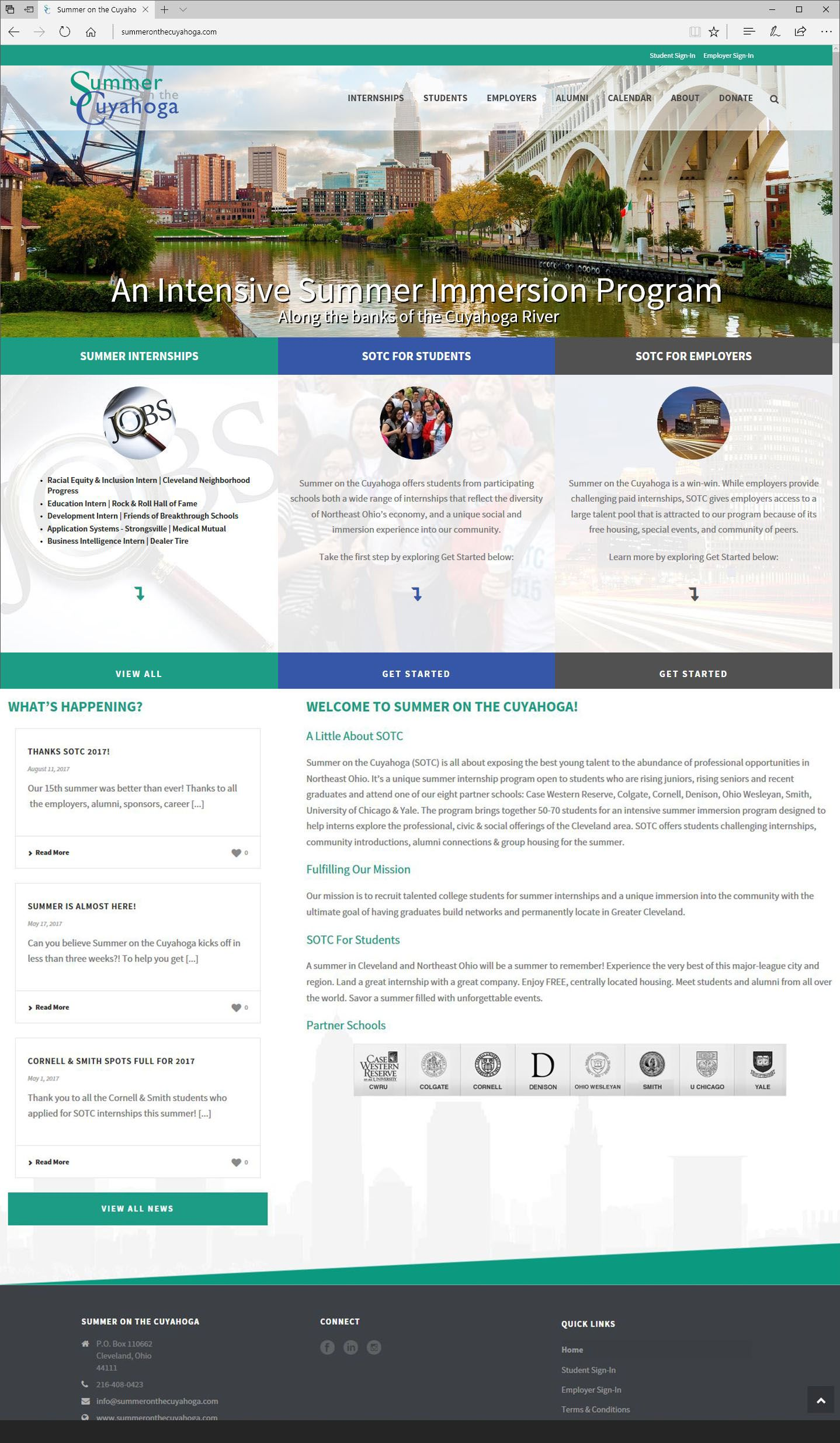 Concept01 Home Web Design Inspiration George County Prince George
