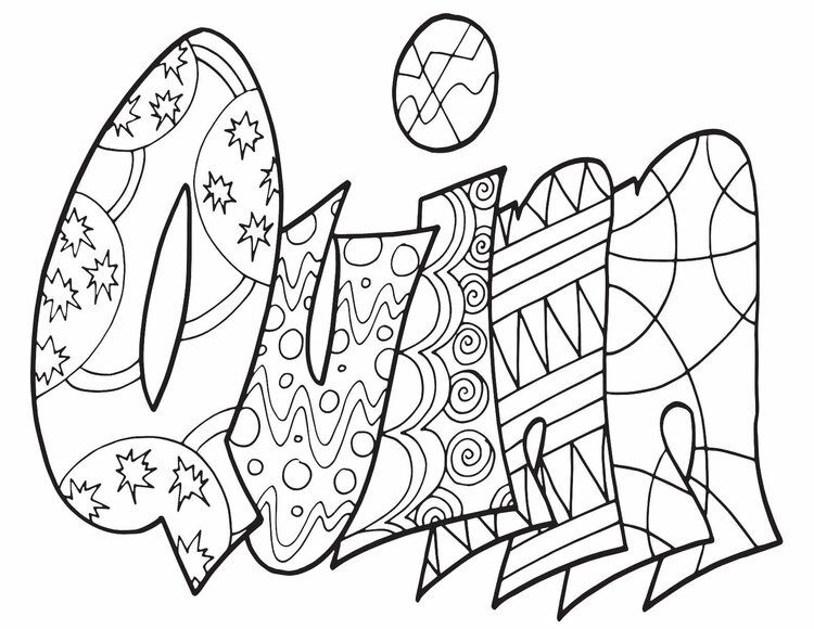 QUINN Free Printable Name Coloring Pages From Stevie