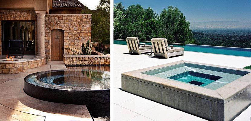 Ideas para instalar un jacuzzi en la terraza o jard n - Jacuzzi para terrazas ...