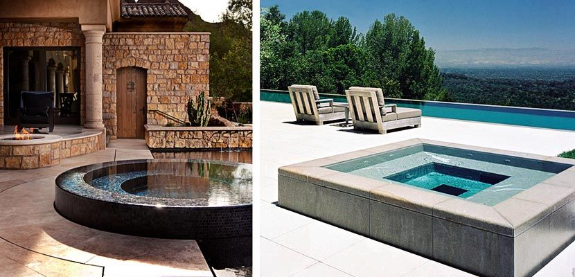 Ideas para instalar un jacuzzi en la terraza o jardín Jacuzzi - jacuzzi exterior
