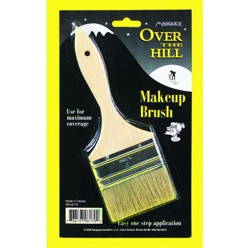 Over the Hill Old Man Funny Birthday Party Favor Gag Gift Bald Man/'s Comb