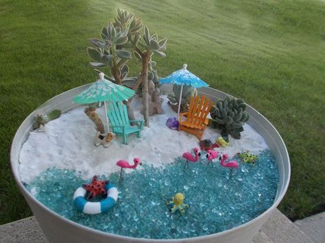 22 Awesome Ideas How to make your own Fairy Garden is part of garden Pool DIY - 22 Awesome Ideas How to make your own Fairy Garden!  MeCraftsman