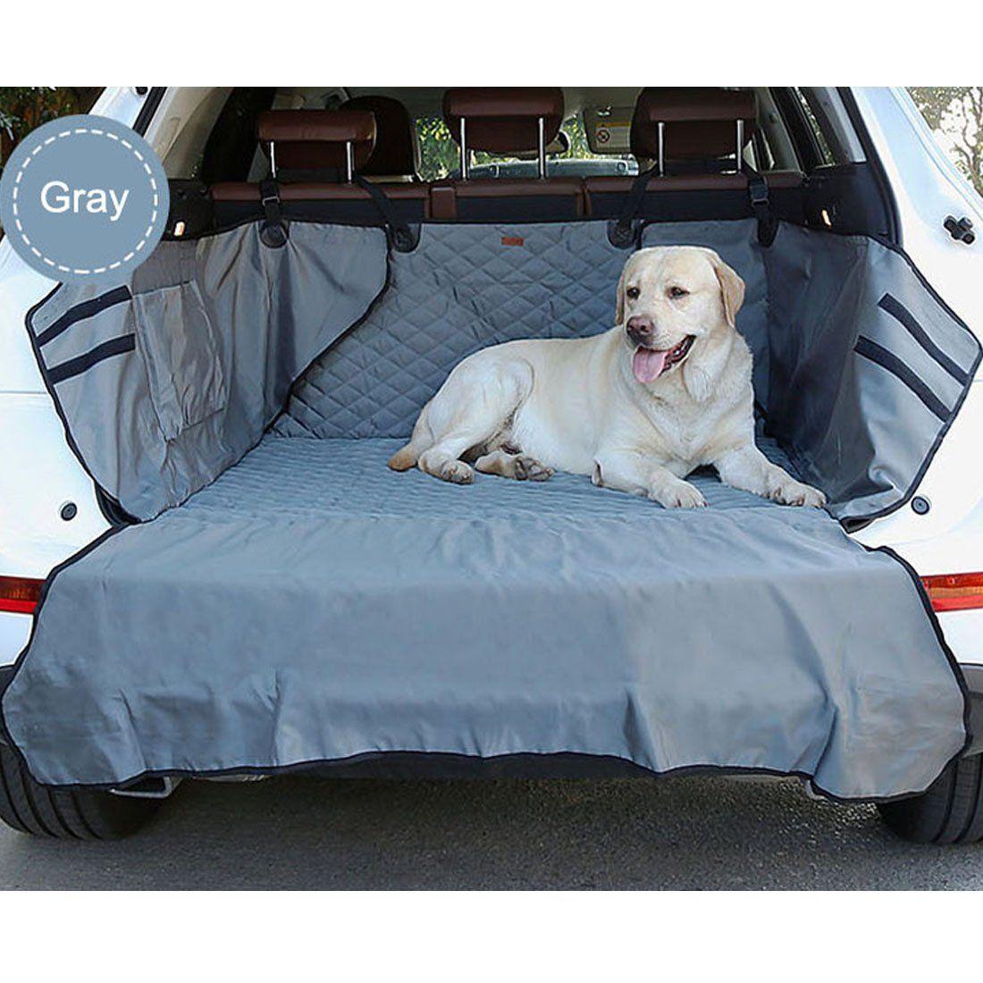 Non-slip Waterproof Dog Cargo Liner Dual-use soft SUV dog Car Trunk Mat pet dog