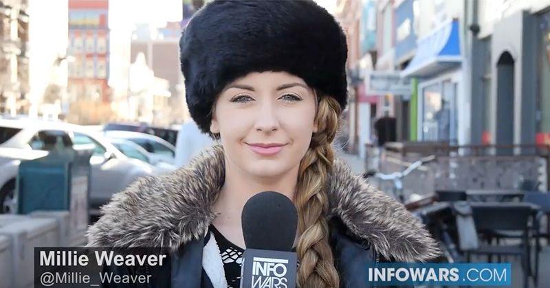 Satire: Russian Infowars Reporter Hacks Pedestrian Minds
