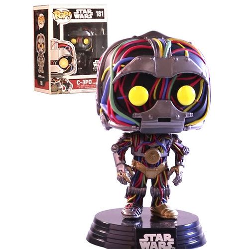 Funko Pop Star Wars Smugglers Bounty Exclusive 181 C 3po Unfinished New Mint Condition Funko Pop Star Wars Funko Funko Pop