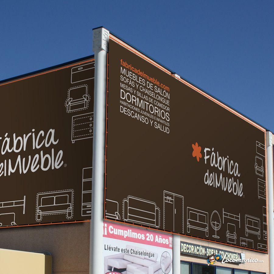 diseño de lonas para tienda de venta y fabricación de muebles ... - Tiendas De Muebles Diseno