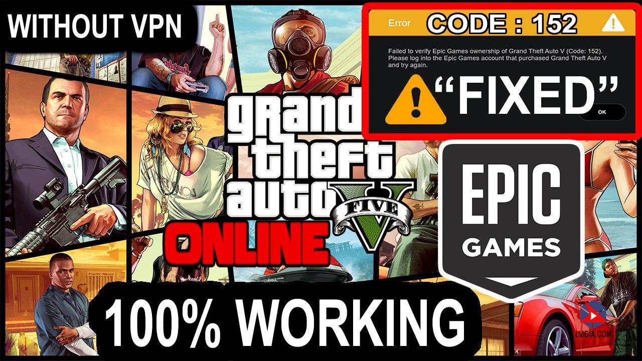 Gta 5 Error 512 Fixed Epic Games Launcher Error Free Gta 5 Epic Games Gta 5 Online Gta 5