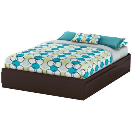 Vito Collection Chocolate Queen Mates, Queen Mates Bed