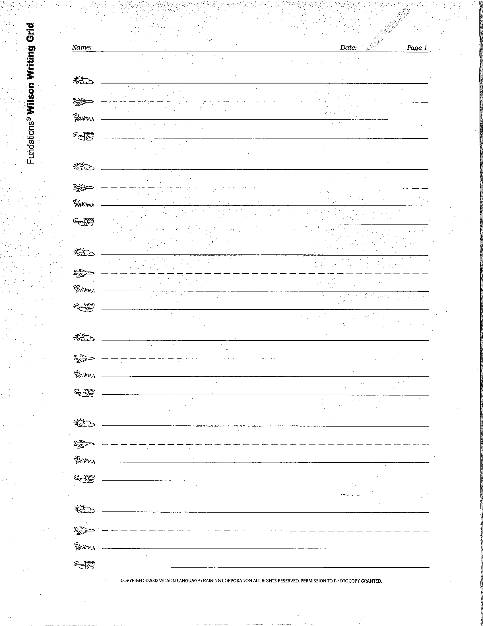 Fundations Full Page