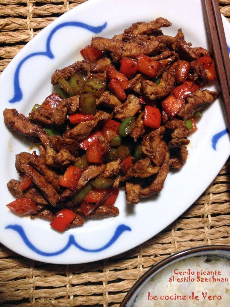 Cerdo picante estilo Szechuan - La cocina de Vero   Mis recetas ...