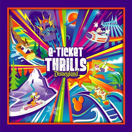 Gift With Purchase - E-Ticket Thrills Collection - Background Illustration