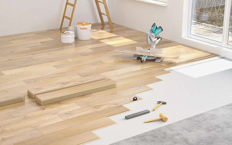 Install Laminate Wood Flooring