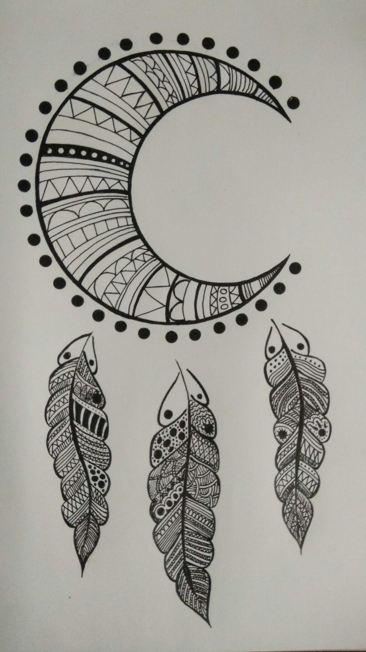 Dream Catcher Mandala Drawing Mandala Art Lesson Mandala Design Art