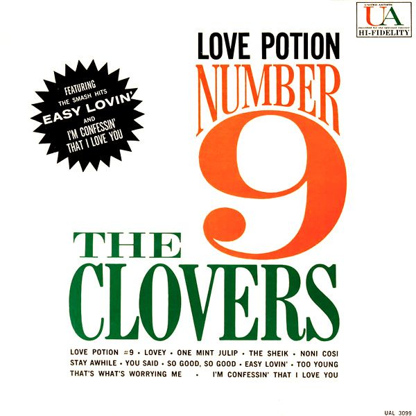 The Clovers - Love Potion Number 9 (1960)