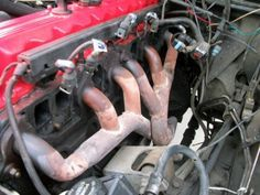 Jeep Cherokee Exhaust Manifold Replacement With Images Jeep