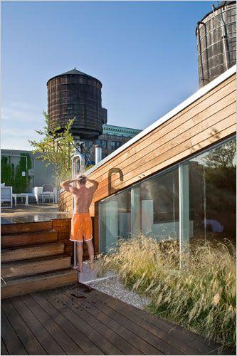 Manhattan Apartment Meets Garden Escape Jardines, patios y - designermobel einrichtung hotel venedig