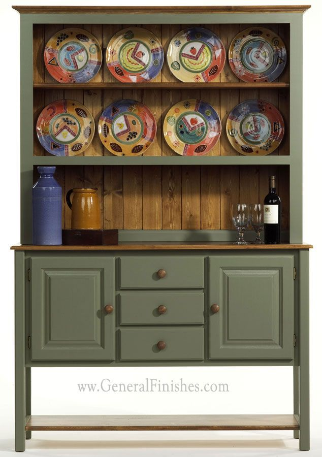 Painted With General Finishes Basil Green Milk Paint For Furniture Try This In